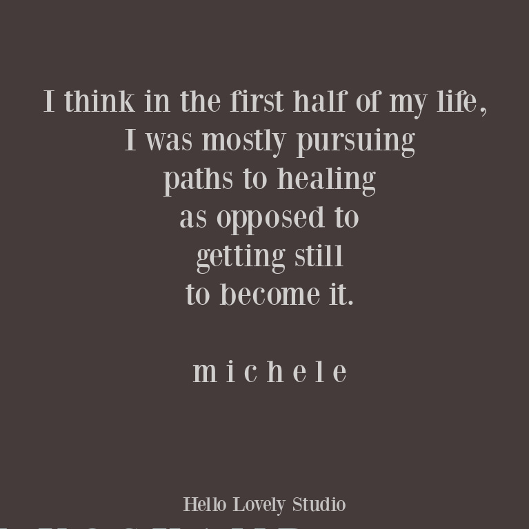 Quote about healing on Hello Lovely Studio. #healingquotes #inspirationalquotes