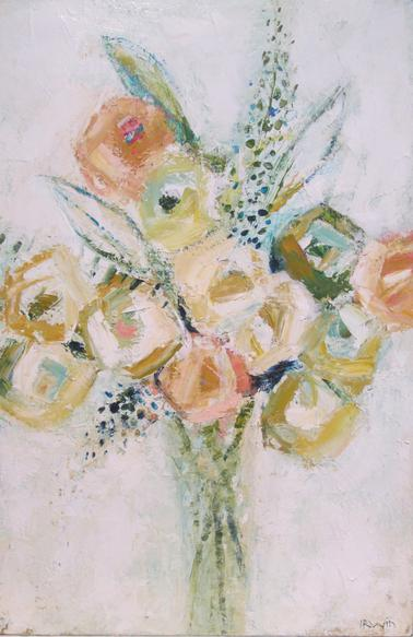 Floral painting by Holly Irwin. #hollyirwin #floral #painting