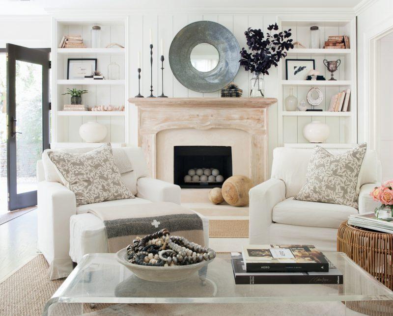 Sherry Hart Living Room in Atlanta Homes