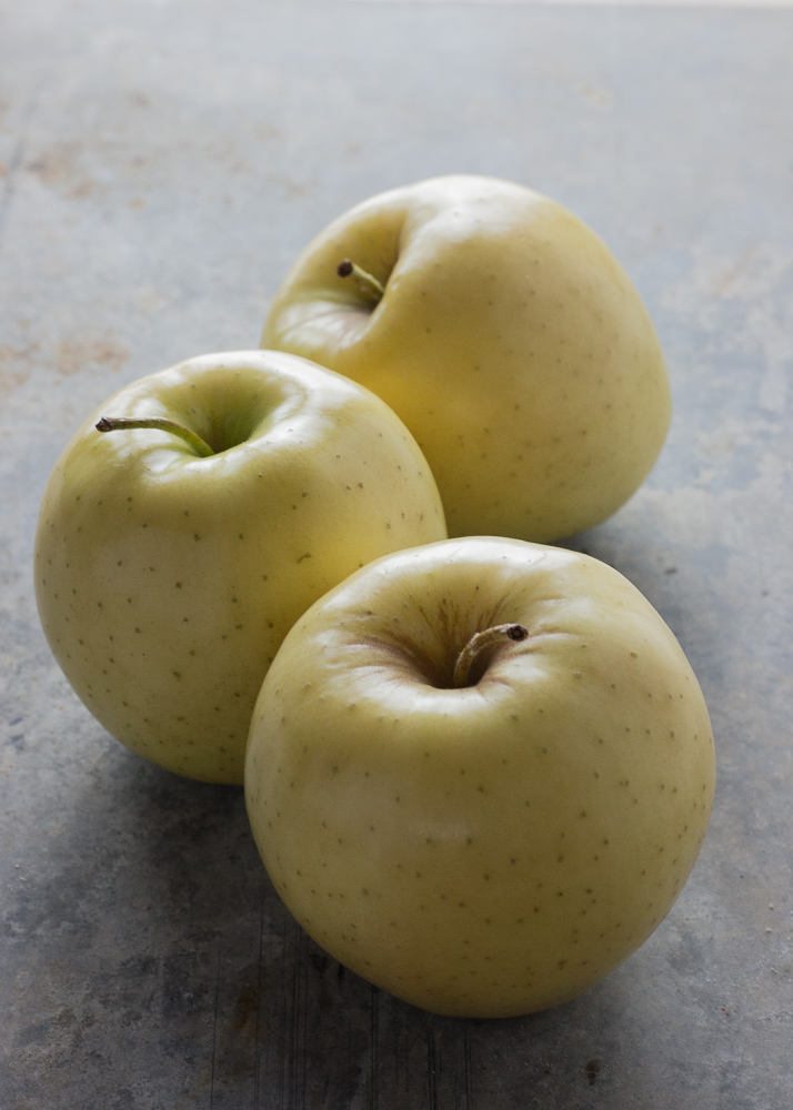Golden apples photographed artfully by Joan Marie and Co.