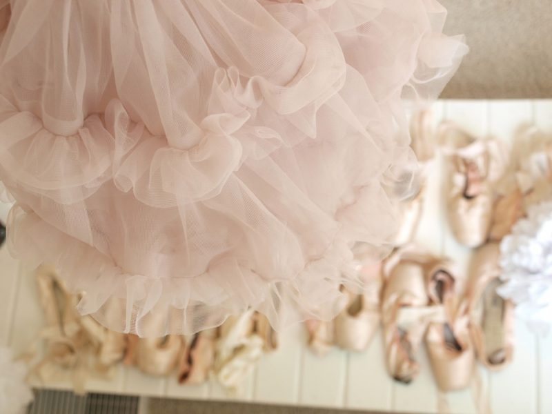 Pink pointe shoes and a ruffly tutu by Hello Lovely Studio #pinktutu #blushpink #pointeshoes