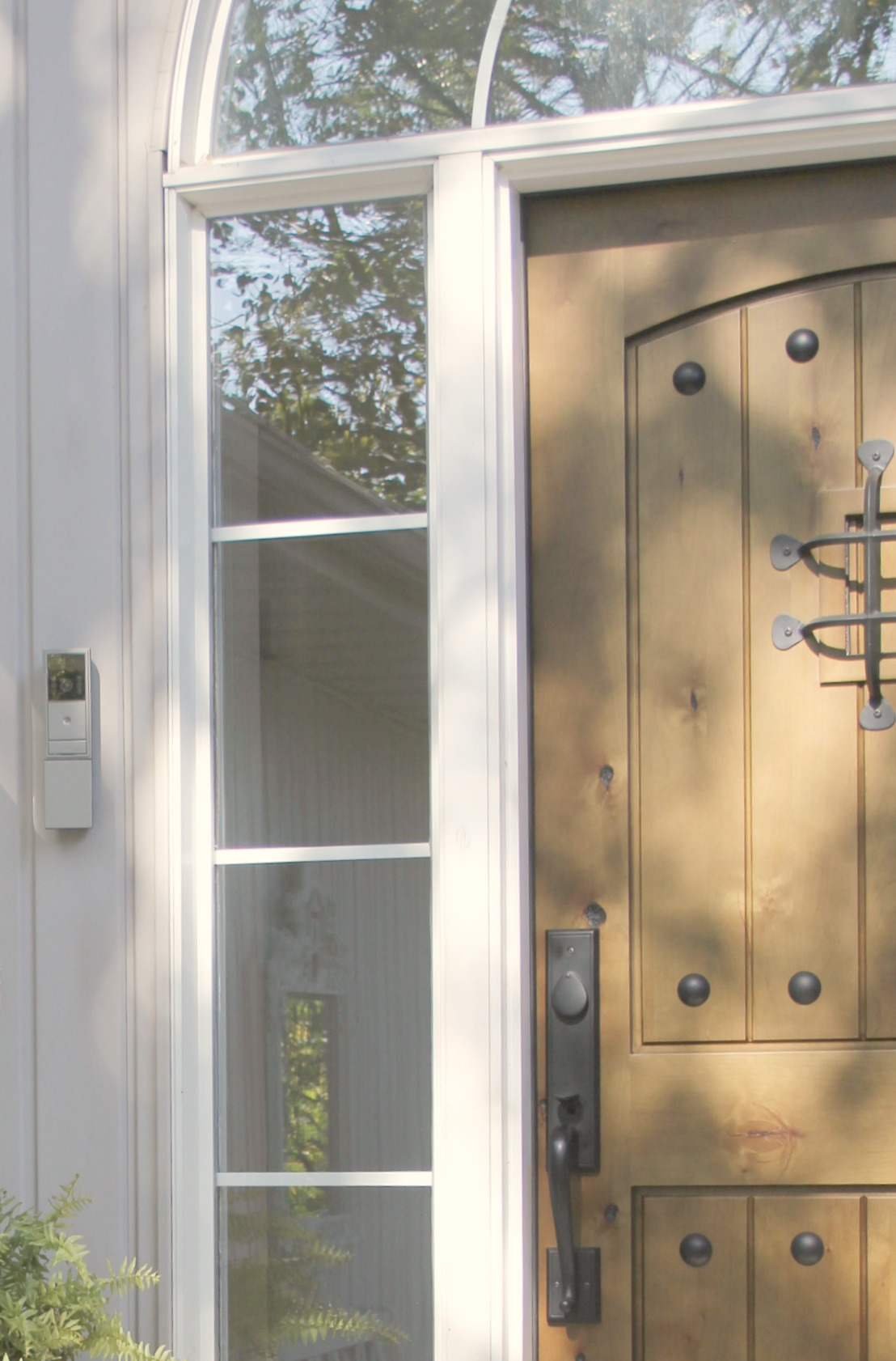 Exterior video doorbell intercom from adorne - Hello Lovely