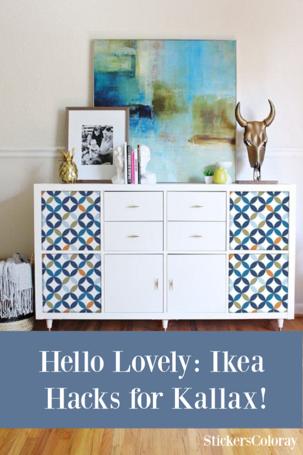 Hello Lovely Ikea Hacks for Kallax - come be inspired by what these amazing creatives have done DIY style to customize this versatile storage from Ikea. #ikeahacks #kallaxhack #homedecor