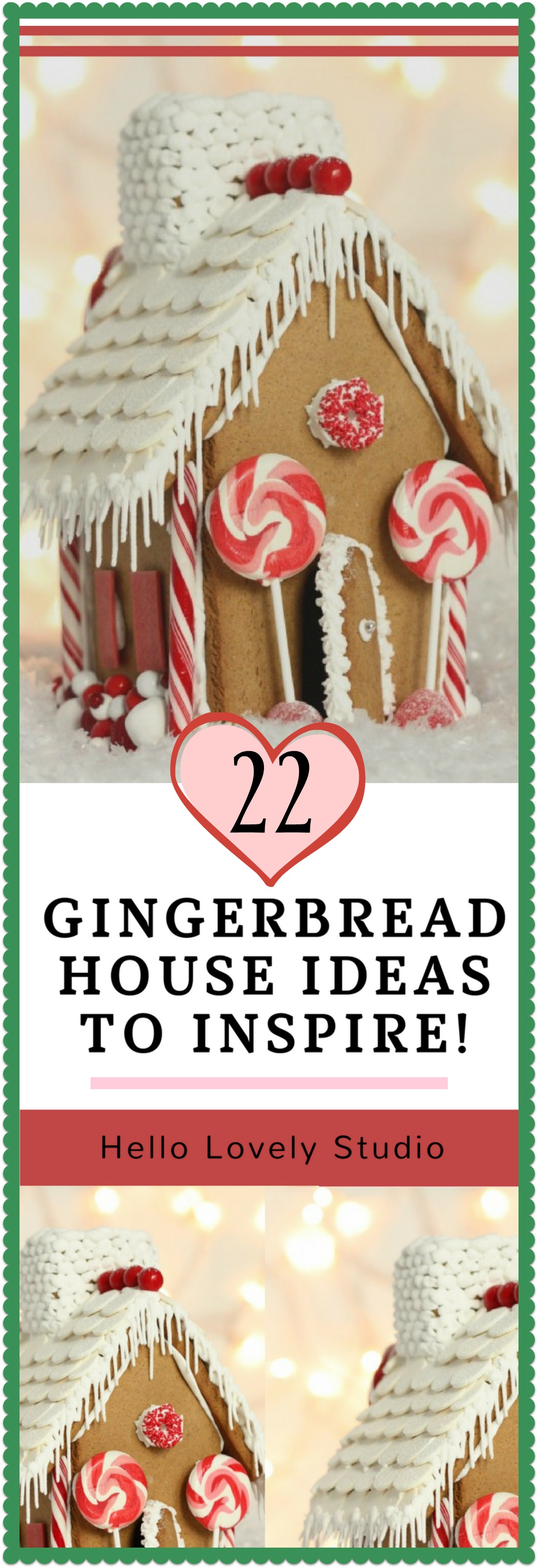 22 Gingerbread House Ideas to Inspire - Hello Lovely Studio