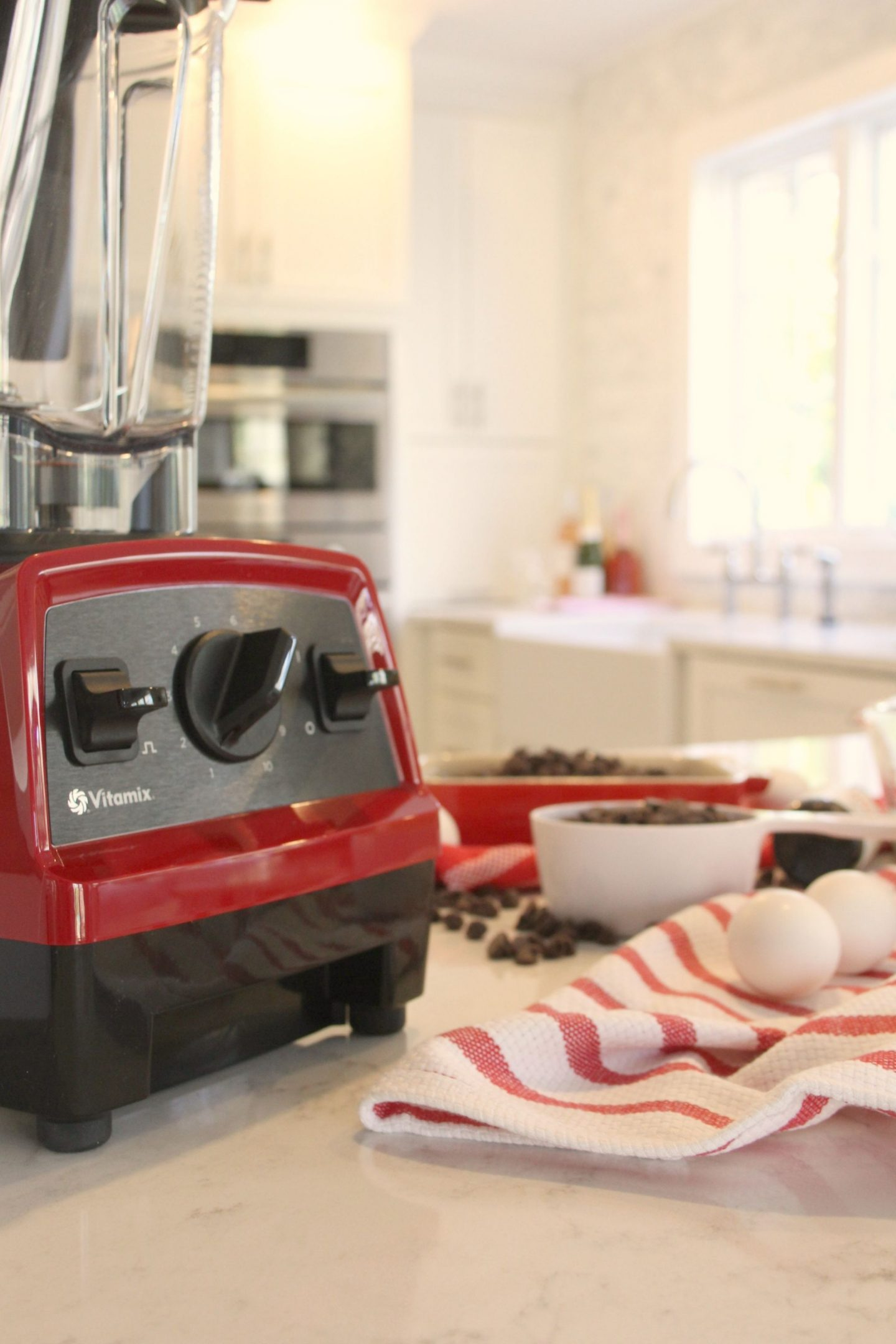 Vitamix Explorian E320 in red - Hello Lovely Studio