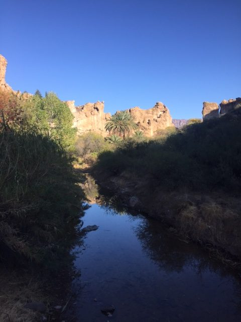 Arizona landscape with creek - Hello Lovely Studio.