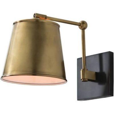 Modern Brass Sconce