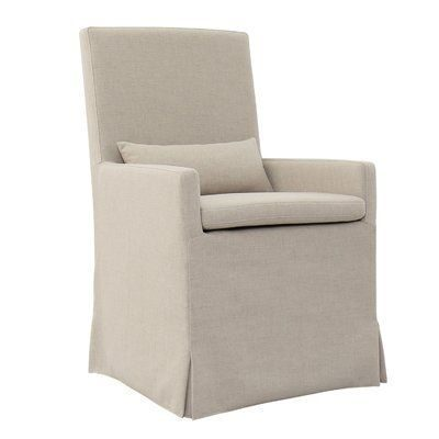 Linen Slipcover Dining Chair