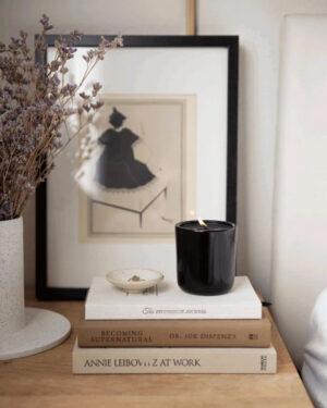 Black Bergamot Soy Candle