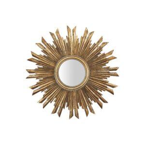 Antiqued Sunburst Mirror