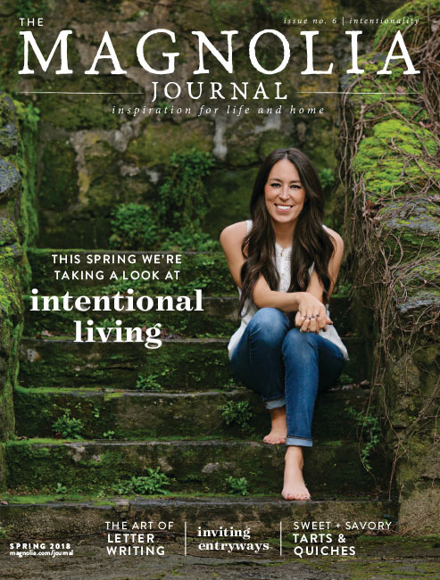 Cover of Magnolia Journal with Joanna Gaines #Magnolia #joannagaines