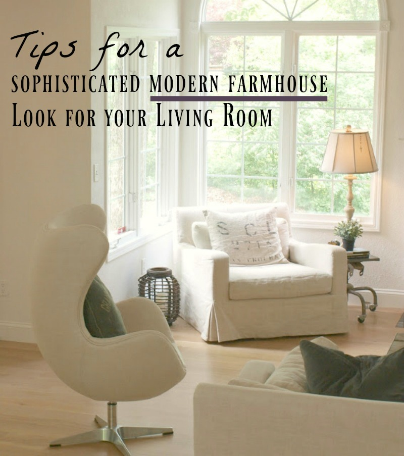 Modern Farmhouse Living Room: Decorating Ideas For A Modern Farmhouse Living Room