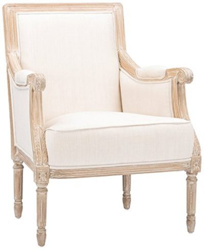 French Country Upholstered Arm Chair