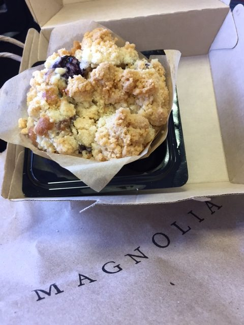 Magnolia Table blueberry muffin. #blueberry #muffin #Magnolia