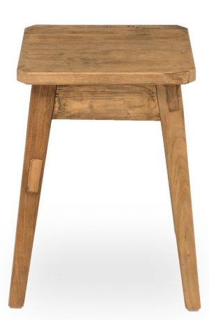 Oak Accent Stool