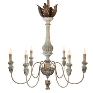 French Candle Style Chandelier