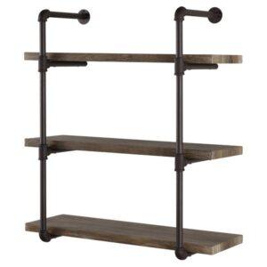 Rustic Industrial Farmhouse Shelves