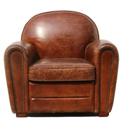 Paris Leather Club Chair #leather #clubchair
