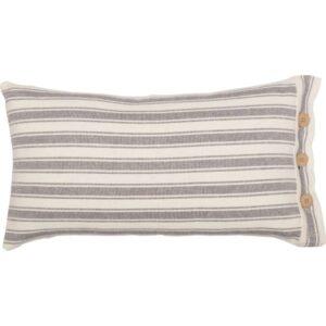 French Ticking Stripe Pillow