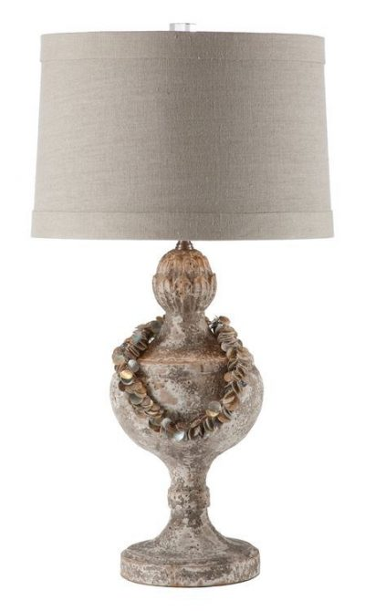 Antiqued French Lamp