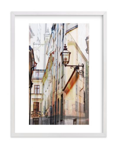 STOCKHOLM Framed Print