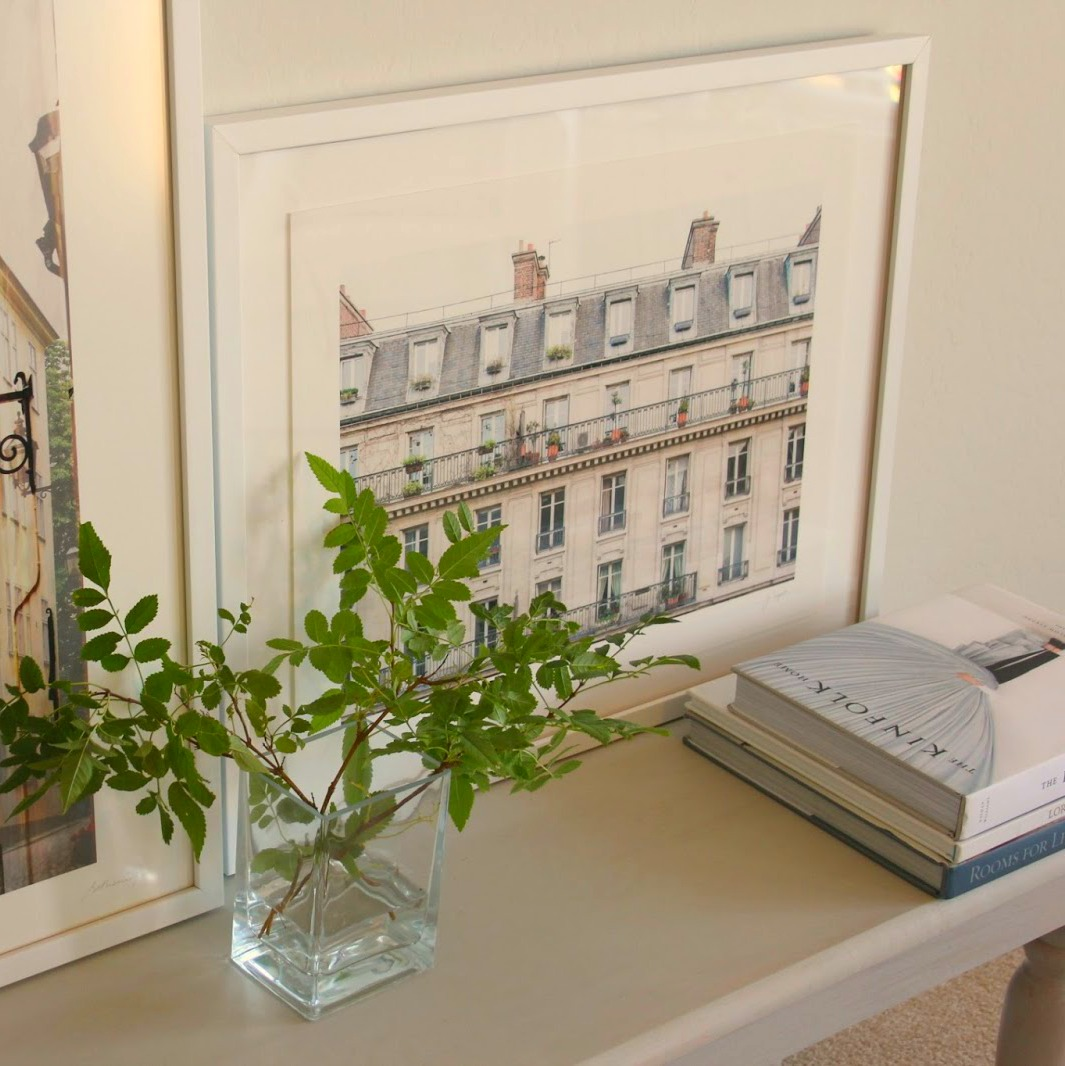 Days of Paris framed fine art print in Hello Lovely Studio's Arizona home.