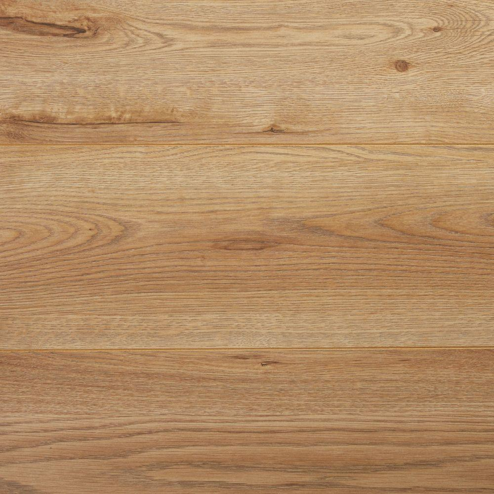 White oak laminate flooring