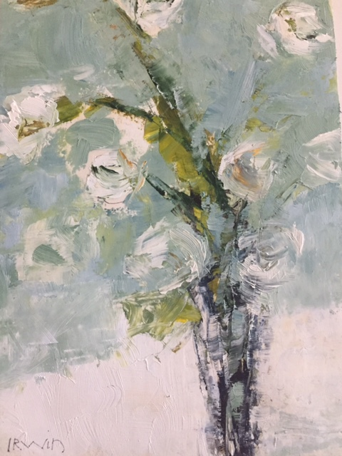 Holly Irwin floral oil painting