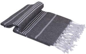 Stripe Turkish Towel Throw