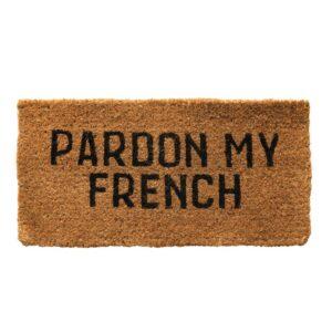 Pardon My French Doormat