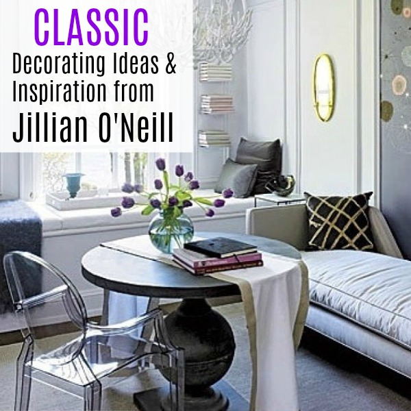 Classic decorating ideas & inspiration from Jillian O'Neill on Hello Lovely Studio. #interiordesigninspiration #classicdecor #jillianoneill #decoratingideas
