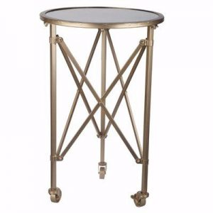 Accordion style side table