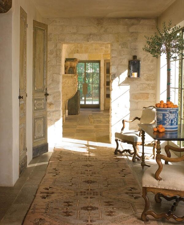 Chateau Domingue Timeless European Elegance and French farmhouse style converge in this house tour of founder Ruth Gay's home on Hello Lovely. Pale and Lovely European Country White Interiors to Inspire with photo gallery.#frenchcountry #frenchfarmhouse #europeanfarmhouse #chateaudomingue #rusticdecor #pamelapierce #elegantdecor #antiques