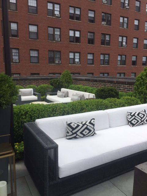 Rooftop furniture and design inspiration. RH Chicago.