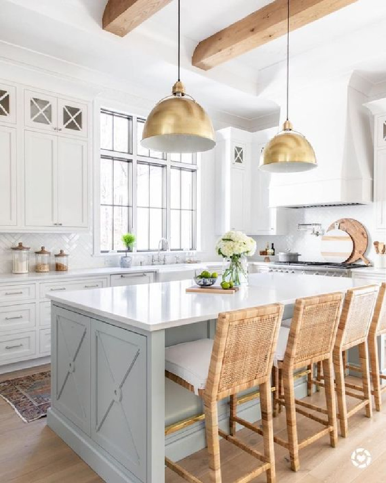 11 White Kitchen Design Ideas To Add Cozy Factor Hello Lovely