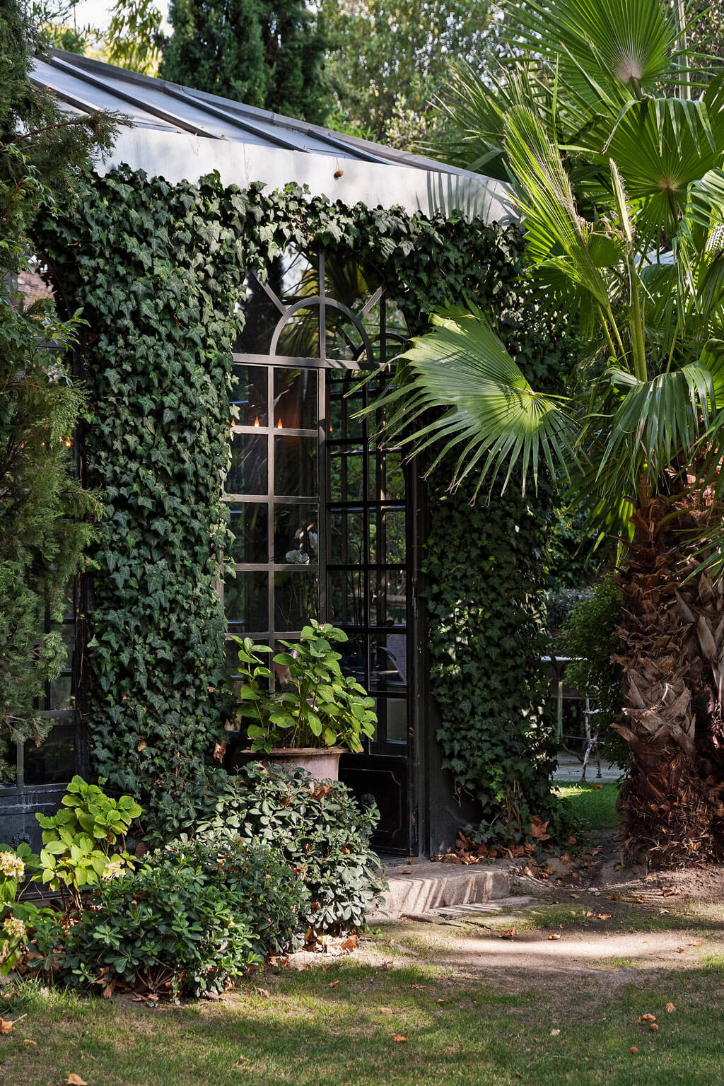 Lush gardens in Avignon. Come see a Breathtaking French Château Tour in Provence With Photo Gallery of Historical Architecture, Dramatic Eclectic Interiors & Oddities!