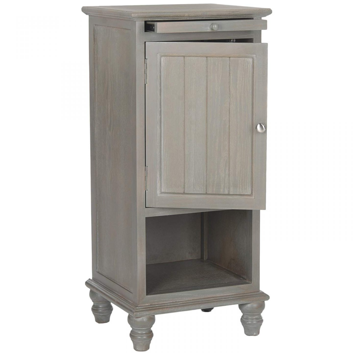 Frech Grey Side Table. French Country Furniture Finds. Because European country and French farmhouse style is easy to love. Rustic elegant charm is lovely indeed.