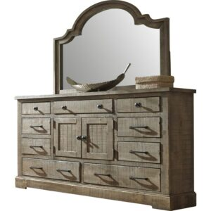 Rustic Country French Dresser