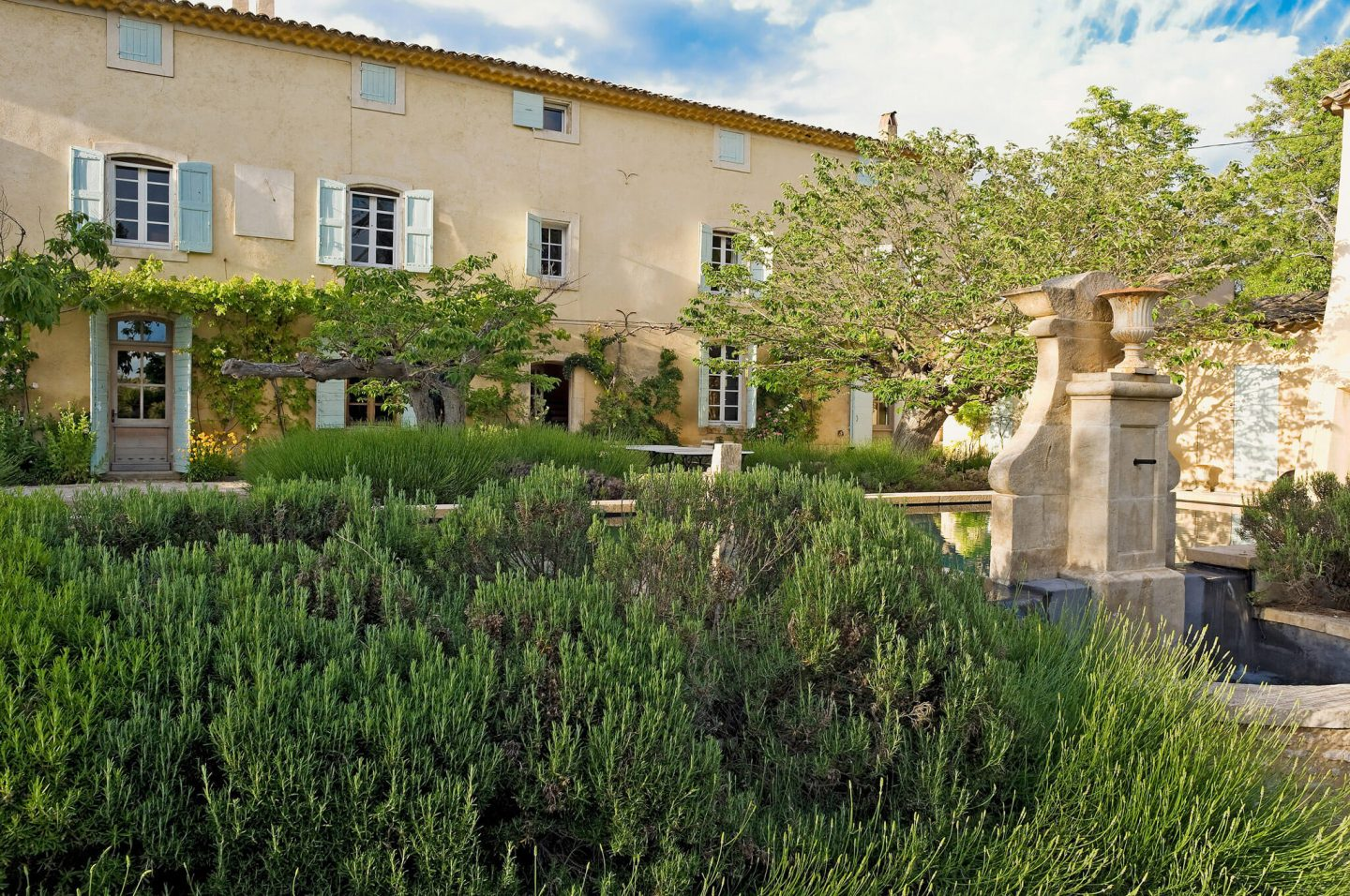 Provence retreat! Inspiring French country interiors, enchanting gardens, and rich architectural details in a historical and luxurious vacation rental from HAVEN IN. #provence #frenchchateau #frenchcountry #frenchfarmhouse #interiordesign #architecture #european #counrtryhouse #havenin #rusticelegance
