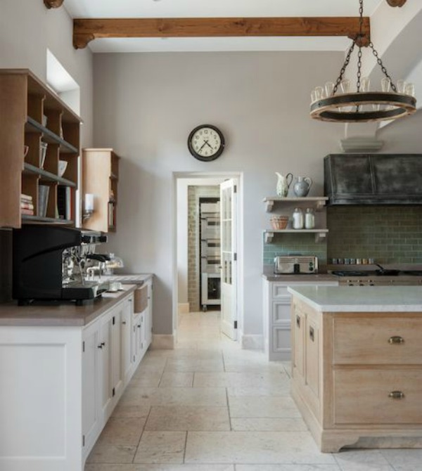 After: luxury bespoke kitchen design by Artichoke in a Tuscan villa.