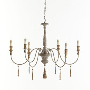 French country candle style chandelier. #romanticdecor #chandeliers #frenchfarmhouse