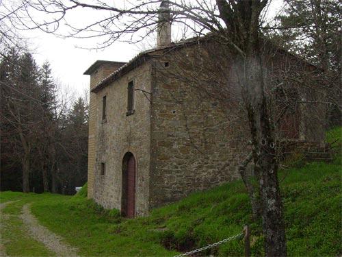 Tuscan villa Guglielmesca before renovation by Artichoke.