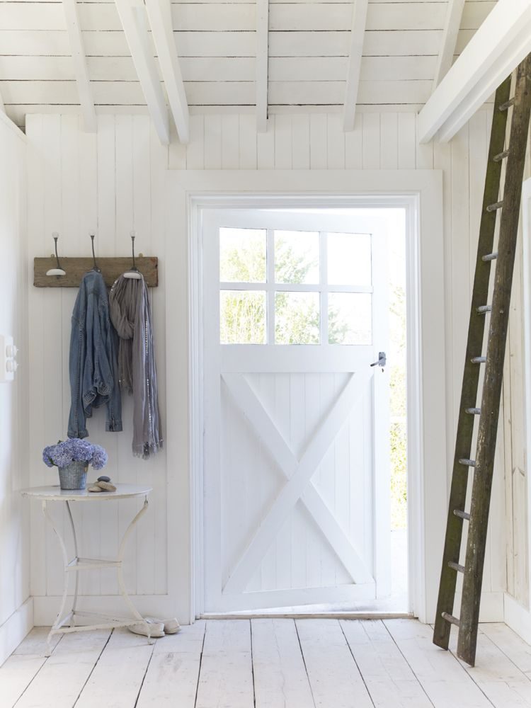Shabby Chic White Cottage Interior Design Inspiration from a beautiful home in East Sussex by The Beach Studios (Atlanta Bartlett & Dave Coote). #shabbychic #whitedecor #housetour #cottagestyle #interiordesign #rusticdecor