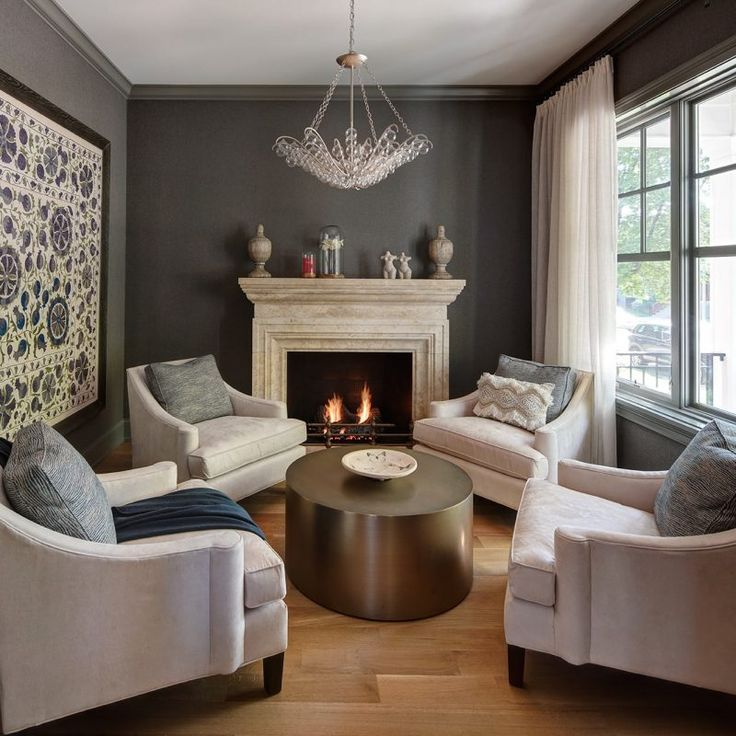 Dark grey walls. Beautiful interior design inspiration from Chicago designer Cari Giannoulias on Hello Lovely Studio. #hellolovelystudio #interiordesign #carigiannoulias #chicagodesigner #interiordesigner #sophisticateddecor #understated #luxurydecor