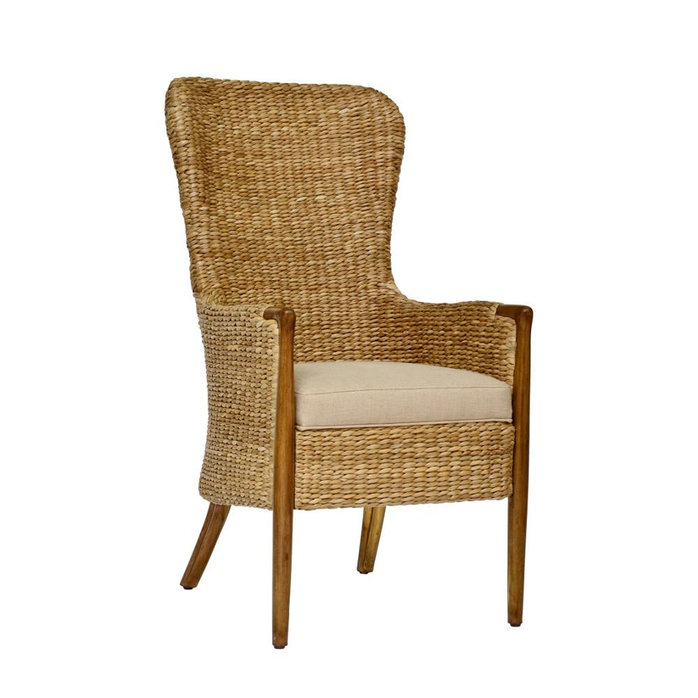 Chronograph Seagrass Dining Chair - Curate Home Collection