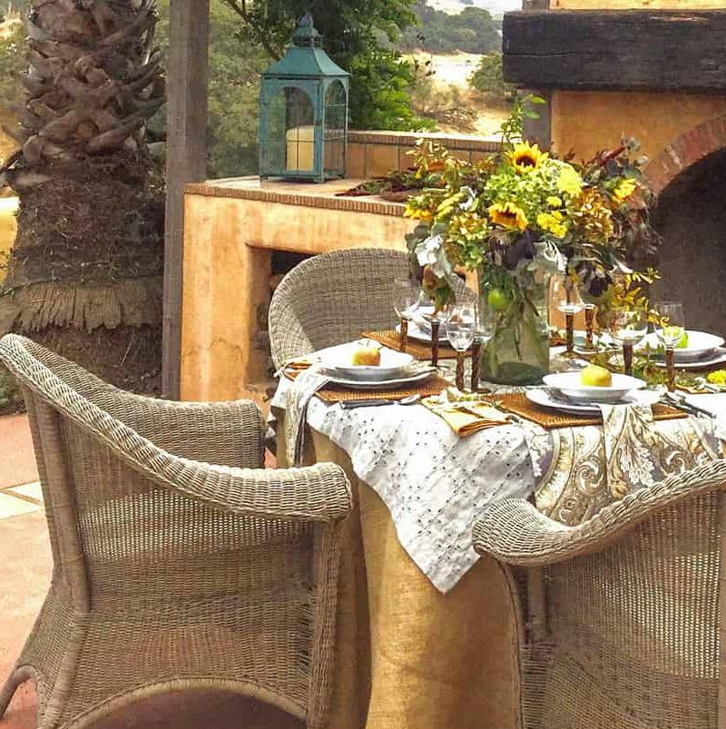 Miraculous 5 Tips For Creating A Killer Fall Tablescape Hello Lovely Short Links Chair Design For Home Short Linksinfo