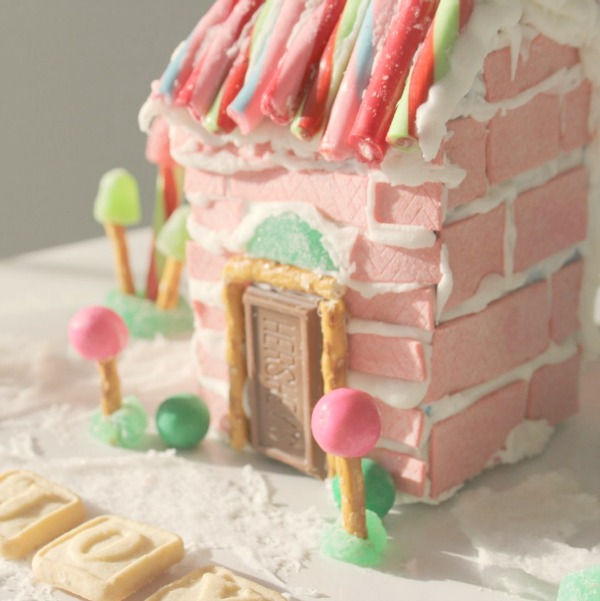 Gingerbread House Ideas & Inspiration. #hellolovelystudio #pinkchristmas #gingerbreadhouse