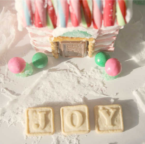 Gingerbread House Ideas & Inspiration. #hellolovelystudio #christmasdecor #pinkchristmas