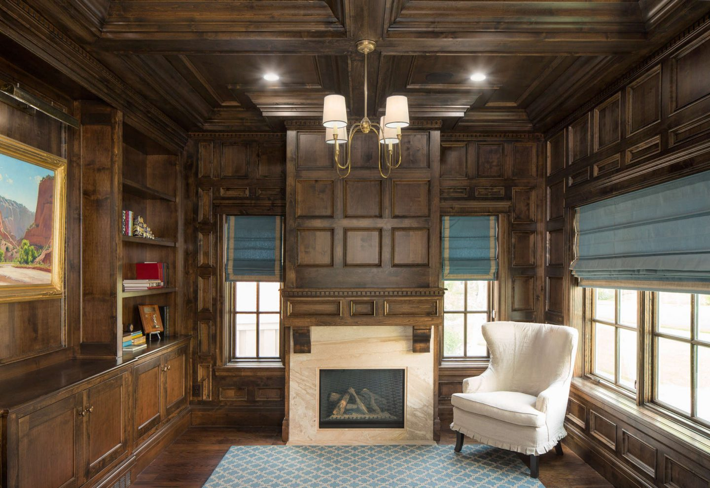 This example of classic traditional architecture from The Fox Group will inspire your design plans! Come see more lovely interior design and home construction ideas. #architecture #interiordesign #traditional #classic #thefoxgroup