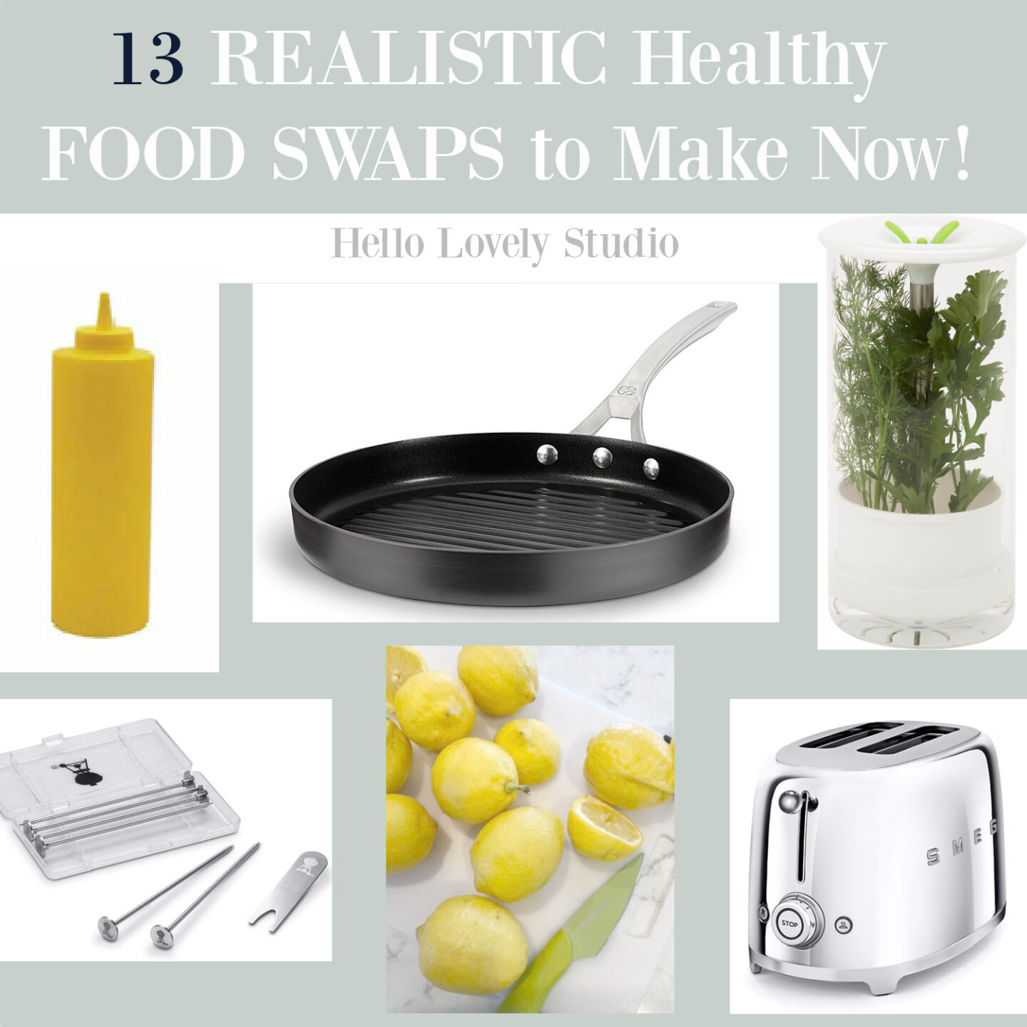 13 Realistic healthy food swaps to make now - come explore these smart ideas for everyday healthier eating - Hello Lovely.